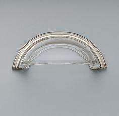 Round Glass Pull