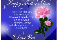 Happy Mothers Day Poems To Share On Facebook