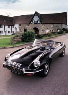 Black Beauty...an English Story of motoring design and timeless art......Jaguar XKE