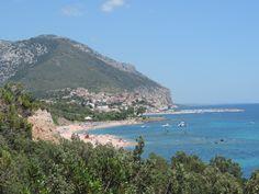 Wunderschöner Osten Sardiniens in der Nähe von Cala Gonone.