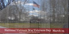 It was on March 29, 1973, when combat and combat support units withdrew from South Vietnam. Generations later, Veterans of this time period are gaining the respect that was not so freely given upon their return. Involving five U.S. presidents, crossing nearly two decades and 500,000 U.S.military personnel, it left an indelible mark on the American psyche. #VietnamWarVeteransDay