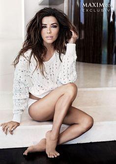 EVA LONGORIA in Maxim Magazine