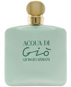 Name: Acqua di Gio  By: Giorgio Armani  Released: 1995 Family: Aquatic Floral Where to Buy: Macy's