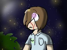 Annie and her fireflies        SCP RP
