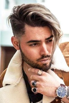 37 Popular Hairstyles For Men To Copy This Year 2019 37 penteados populares para homens copiar este ano 2019 Trendy Mens Hairstyles, Popular Short Hairstyles, Hairstyles Haircuts, Haircuts For Men, Short Haircuts, Popular Haircuts, Quick Hairstyles, Hair And Beard Styles, Short Hair Styles