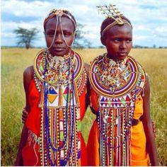 Just beautiful Maasai Tribal Girls