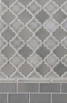 Small arabesque mediterranean bathroom tile;master shower