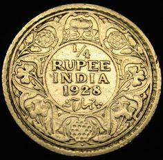 1928 British Colonial India Silver 1 4 Rupee RARE George V Coin in Great Shape | eBay Colonial India, British Colonial Style, Rare British Coins, Rare Coins, Coin Auctions, Gold And Silver Coins, Vintage India, Antique Coins, Crypto Currencies