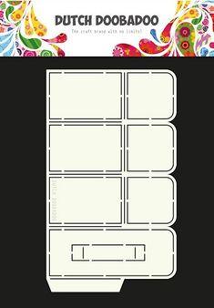 470.713.047 Dutch Doobadoo Dutch Box Art A4 Box Up Box