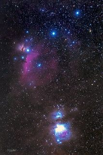 Orion's belt and nebulas 6d Canon, Orion's Belt, Nebulas, Astrophysics, Cosmos, Northern Lights, Photoshop, Space, Blue Prints