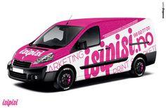 Peugeot Expert   Van Wrap Design by Essellegi. Van Signs, Van ...