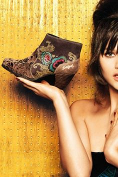 Desigual Women's Sofia ankle boot.