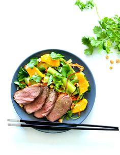 Salade thaï – Magret de canard rôti & Citron vert