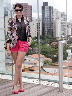 lookdodia143 Blazer Shirt, Zara, Capsule Wardrobe, Gorgeous Women, Ideias Fashion, Short Dresses, Spring Summer, Mix, Shorts