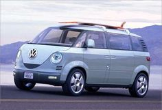 840483258214 modern Volkswagon Bus concept... this could be my mom wagon one day.