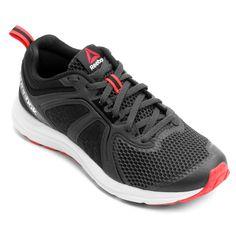 Com visual moderno, o Tênis Reebok Zone Cushrun 2.0 W Grafite e Vermelho é o parceiro perfeito para seu dia a dia esportivo, seja para treinos corridas ou caminhadas leves, ele garante conforto e amortecimento na medida | Netshoes