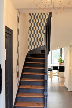Art deco home kitchen 16 Trendy Ideas New Homes, Family House, Staircase Remodel, Staircase Design, Home, House Stairs, Home Deco, Art Deco Home, Renting A House