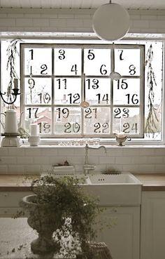antique window advent…