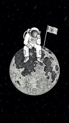 lonely astronaut Wallpaper by susbulut - - Free on ZEDGE™ Dark Wallpaper, Galaxy Wallpaper, Wallpaper Quotes, Space Drawings, Space Artwork, Art Drawings, Aesthetic Iphone Wallpaper, Aesthetic Wallpapers, Art Hipster
