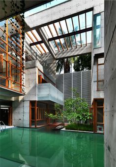 Alif Breeze by SHATOTTO architecture for green living, Gulshan, Dhaka, Bangladesh