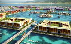 The majority of people in Haiti probably could care less if they lived on a floating city, many of then need their necessities like food and shelter covered first. Description from yankodesign.com. I searched for this on bing.com/images