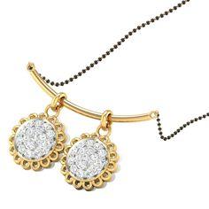 Holy Divine Diamond Mangalsutra