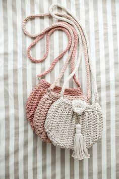 Knitted bag crochet bag knit bag handmade bag hand knitted