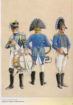 Siguiendo,la antigua costumbre de reclutar tropas suizas ,para el servicio de Francia,el Directoriolas restauró, años despues del licenci...