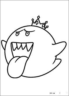 Desenhos para pintar Mario Bross 6