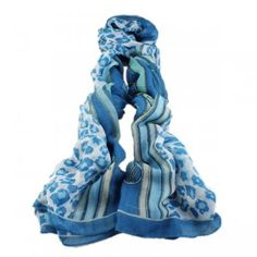 Leopard And Striped Scarf Shawl for Women Wholesale