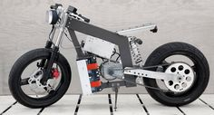 """bad sector"" is a prototype electric motorcycle inspired by flat-track racer style"