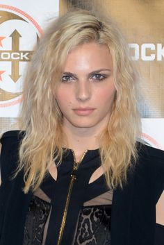 Pin for Later: 18 Times We Envied Andreja Pejić's Beauty 2013, G-Shock's Shock the World at Basketball City Event Andreja looked casually cool with slightly crimped hair tossed over to one side.