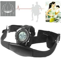 Newest HOT Sport Waterproof  Wireless Heart Rate Monitor Sport Fitness Watch With Chest Strap,Outdoor Cycling - http://fitness-diet.info/?product=newest-hot-sport-waterproof-wireless-heart-rate-monitor-sport-fitness-watch-with-chest-strap-outdoor-cycling  Visit http://fitness-diet.info/ to Shop Now