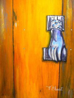 Todos los sentidos puestos e un solo instante? cuando llaman a la puerta  Las puertas pueden significar cosas diferentes, no sólo son la entrada o salida de cualquier lugar.  Reflejan la personalidad de una construcción o de su dueño. Cuentan historias de nuestro pasado y presente.   Representan la capacidad de superar nuestros propios límites:  si una puerta se cierra, otra puede abrirse.  Aún más, hay personas que ven puertas donde otras sólo ven muros.