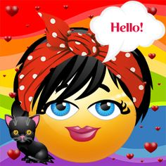 This cool emoticon has been created by Liviana.