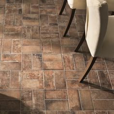 West End is a brick effect porcelain tile, available in three colours, that is suitable for both the wall and floor. The versatile 100x200 size creates a number of design possibilities including tiling in a brick bond or herringbone design.