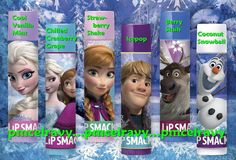 Disney FROZEN Lip Smacker Lip Gloss All 6 Flavors Available You Pick Anna Elsa Olaf Kristoff Sven #LipSmacker