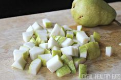 Summer Pear & Walnut Salad