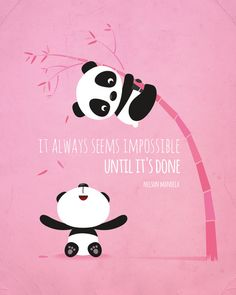 Nursery art girl Panda nursery print by IreneGoughPrints on Etsy