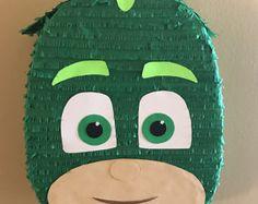 Items similar to Owlette Pinata on Etsy Pj Masks Birthday Cake, Birthday Pinata, Baby Boy Birthday, Boy Birthday Parties, 4th Birthday, Pjmask Party, Party Ideas, Pj Masks Pinata, Pumpkin Mask