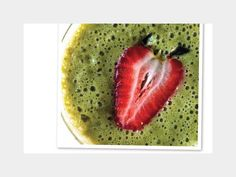 """10 Detox Strawberry Fields -  """"Strawberries are phytonutrient factories, supplying your body with a bounty of anti-inflammatory & antioxidant nutrients,""""  Serves 2    3C cashew or nondairy milk of your choice  2C fresh strawberries  1T lemon zest  1 small orange, peeled  1 banana  1½C loosely packed spinach    IN a high-speed blender, blend all ingredients until smooth."""