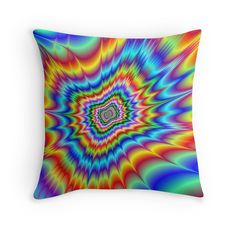 'Blasted into Orbit' Throw Pillow by EyeBogglers