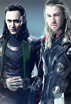 Thor & Loki - I may need to pin this under my Christmas Wish List as well.