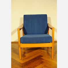 70s Armchair Blue by Meiwo Design