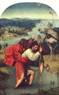Bosch, Hieronymus: Hl. Christophorus