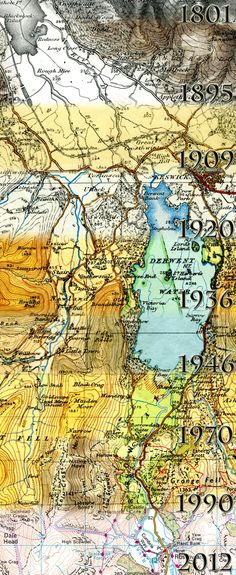 The Cartographic Evolution of Ordnance Survey maps - image by A. Karpinska
