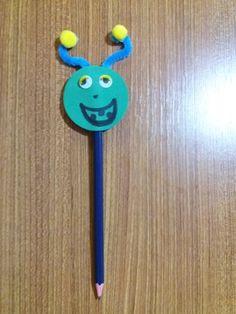 Pencil monster