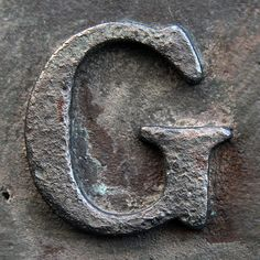Letter G (photo  by Leo Reynolds)