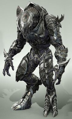 WOW!!! This concept art of the armour of the arbiter from halo is so cool!!  LOVE IT!!!