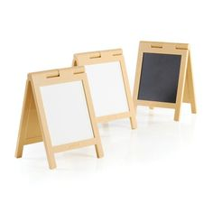 Guidecraft Mini Message Boards, Natural